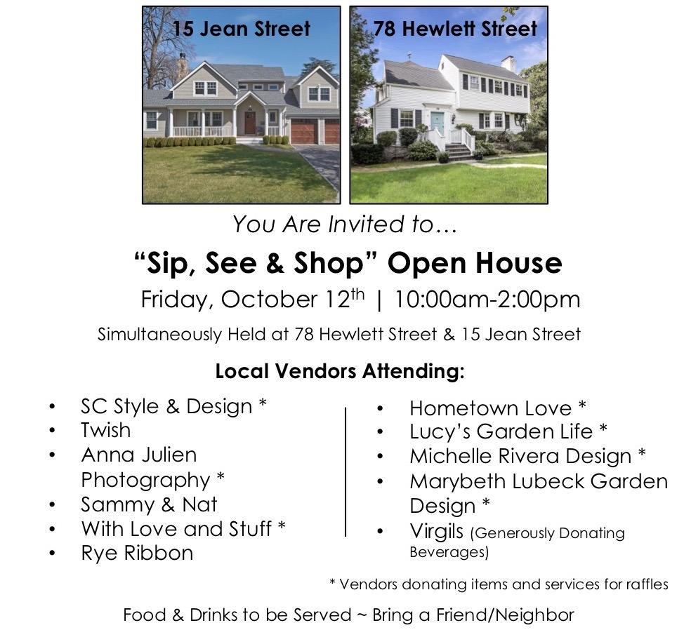 Open House Oct 12 IG Version