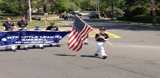 62nd Annual Little League Parade  Date: Saturday, April 6th, 2019  Place: Rye Train Station Plaza  Time: Line up 11:30 a.m.   Parade begins 12:00 sharp!